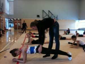 training camp with Sasha Ermakova (Russia) after the competitions